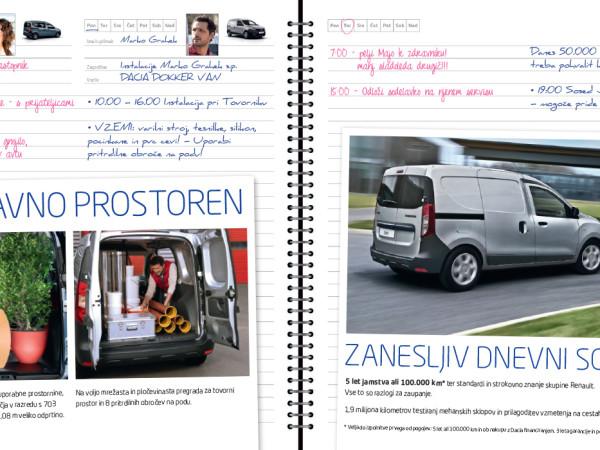 Dacia Dokker – mailing