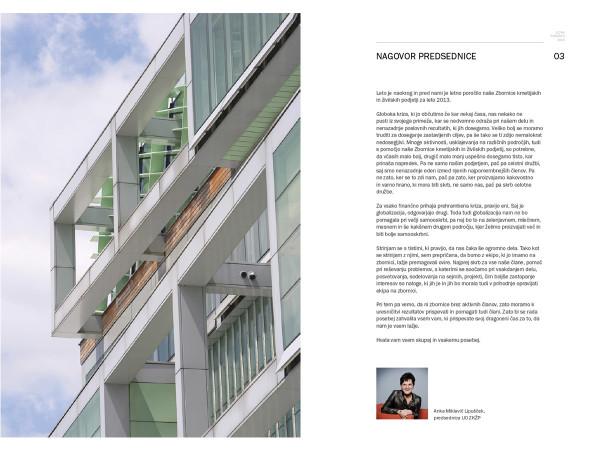 Letno poročilo ZKŽP 2013